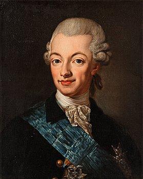 202. Lorens Pasch d y Tillskriven, Kung Gustav III.