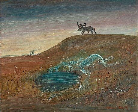 "Arthur boyd, ""nebuchadnezzar-sviten""."