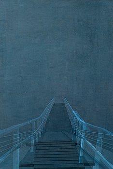 """407. Susanne Gottberg, """"BRIDGE IX""""."""