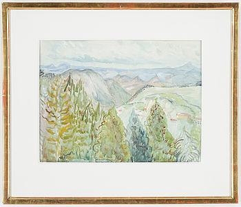 Valley Landscape.