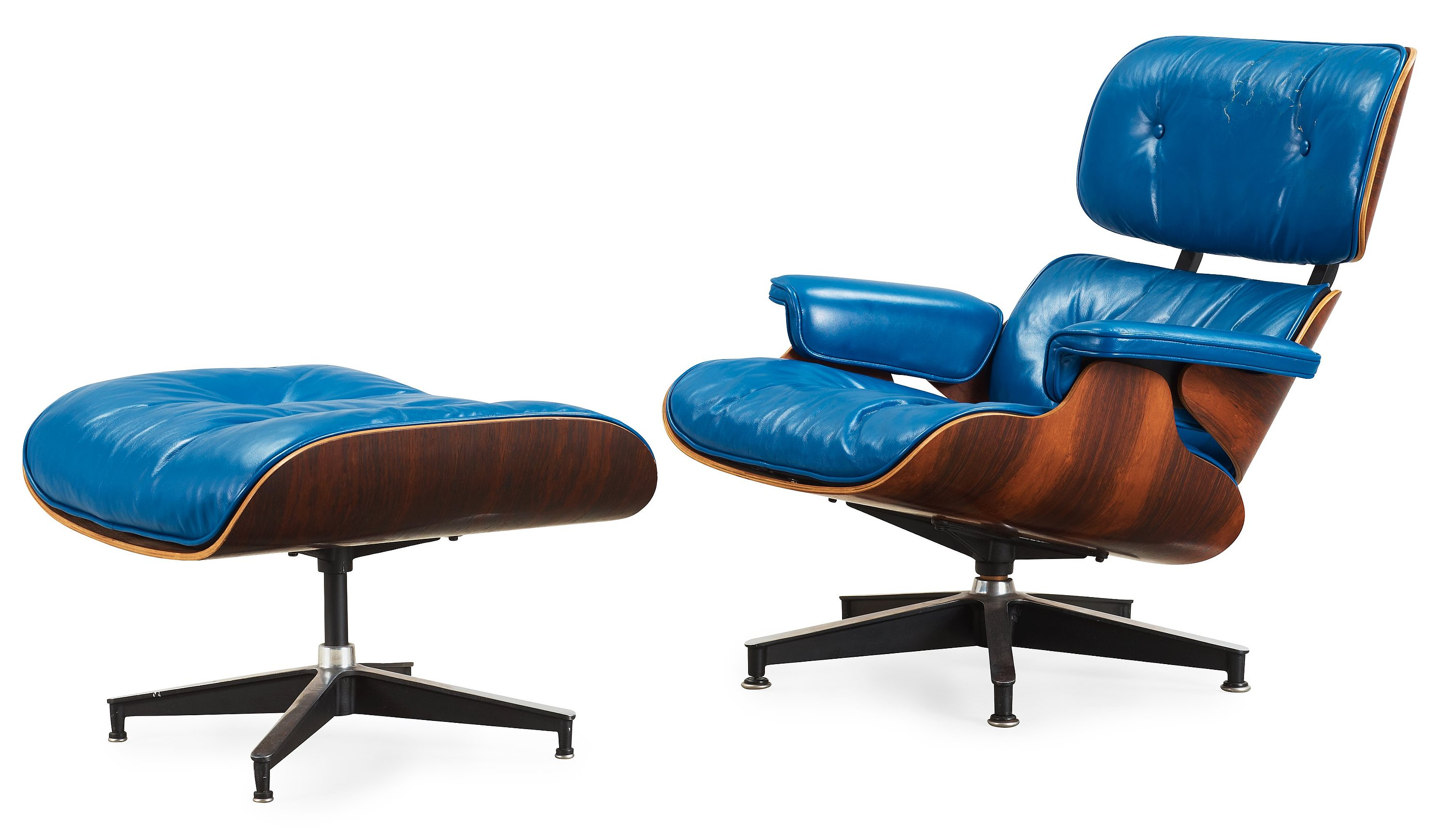 Enjoyable A Charles And Ray Eames Lounge Chair And Ottoman Herman Caraccident5 Cool Chair Designs And Ideas Caraccident5Info