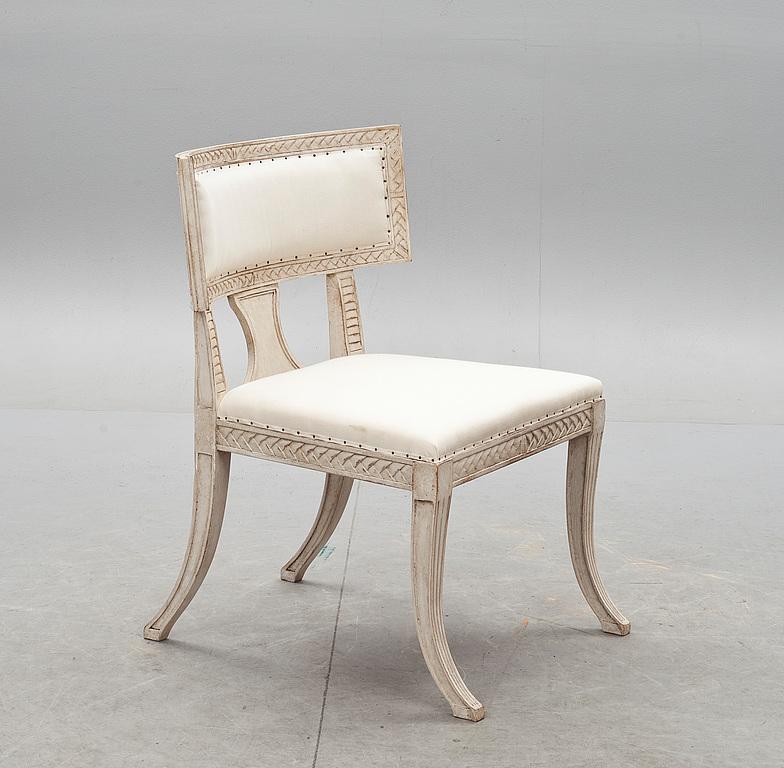 sullas stol ~ stol, gustaviansk stil sk sullastol modern tillverkning