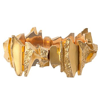 """207. Björn Weckström, A BRACELET, 14K gold, """"Bear´s Tusk"""" Lapponia 1975."""