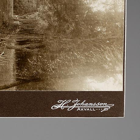 Fotografier, remningstorp herrgård, 13 st, 1900-talets första hälft.