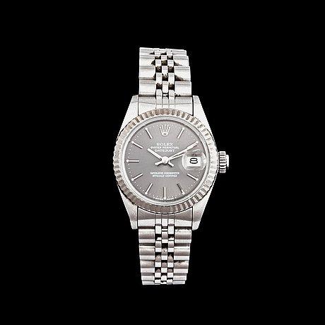 Rolex - datejust. steel. automatic. ø 26mm. 1988.