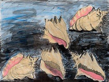 "382. Jim Dine, ""FIVE SHELLS""."