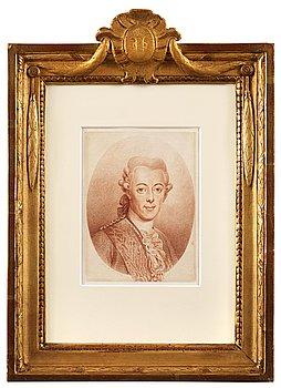"""296. Elias Martin, """"Gustaf III"""" (1746-1792)."""