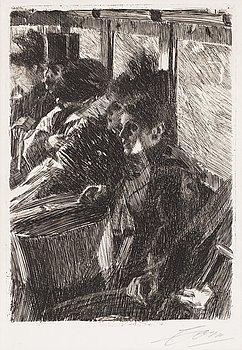 """110. Anders Zorn, """"Omnibus""""."""