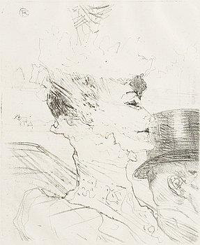 """315. Henri de Toulouse-Lautrec, """"Louise Balthy"""", Première édition."""