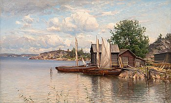 13. Hjalmar Munsterhjelm, THE ARCHIPELAGO.