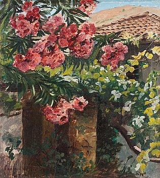 169. PEDER SEVERIN KRÖYER, Spansk trädgård, motiv från Granada.