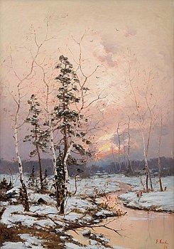 16. Eugen Taube, WINTER SUN.