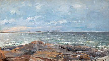 4. Woldemar Toppelius, SHIPS IN THE HORIZON.