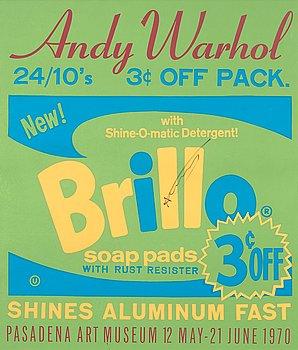 """216. Andy Warhol, """"Brillo""""."""