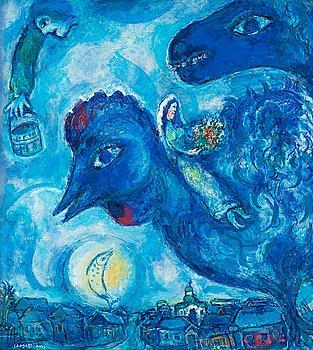 "370. Marc Chagall, ""Le rêve de Chagall sur Vitebsk""."