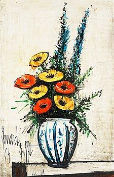 372. Bernard Buffet, Bouquet de fleurs.