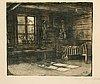 "Eero järnefelt, ""corner of a farmhouse interior""."