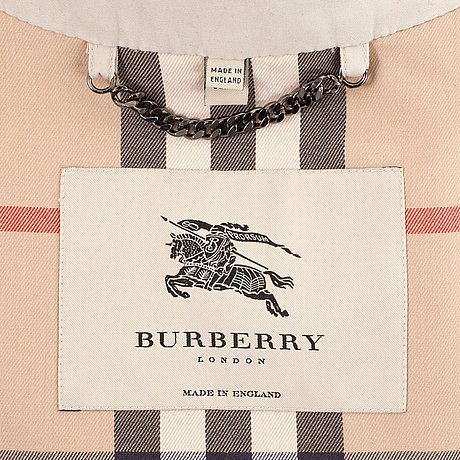 Burberry, trenchcoat dam, brittisk storlek 16.