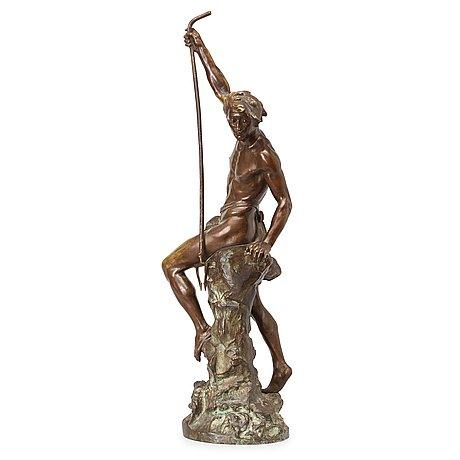 """Ernest justin ferrand, """"le pêcheur de congres""""."""