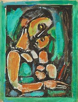 """367. Georges Rouault, """"Mater Dolorosa"""" (""""il serait si doux d'aimer"""")."""