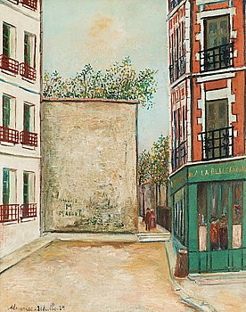 "279. Maurice Utrillo, ""La Belle Gabrielle""."