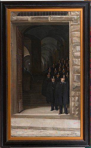 Venny soldan-brofeldt, a florentine police choir.