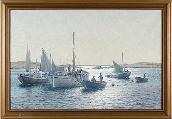 EMIL EKMAN, olja på duk, signerad och daterad 1939.