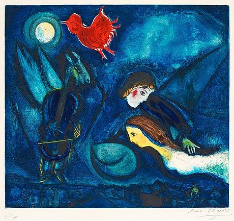 """Marc chagall, """"aleko""""."""