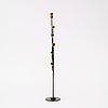 A piet hein 'ursa major' brass and black lacquered metal candelabrum, 1950's-60's.