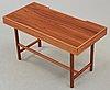 A josef frank mahogany and palisander desk, svenskt tenn, model 1022.