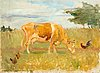 Venny soldan-brofeldt, a cow in the meadow.