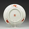 A set of 11 dragon dishes, late qing dynasty (1644-1912).