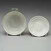 A set of four famille rose bowls with covers and two dishes, qing dynasty, with guangxu mark and period (1874-1908).