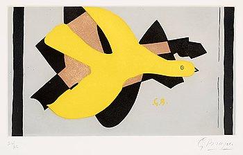 """375. Georges Braque, """"L'oiseau et son ombre II""""."""