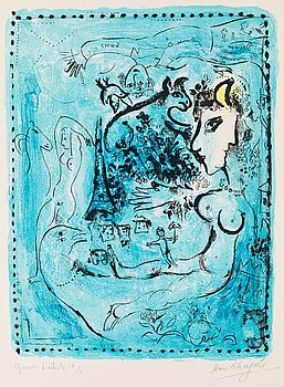 """377. Marc Chagall, """"Nocturne""""."""