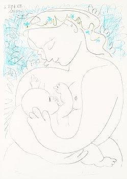 """302. Pablo Picasso, """"Maternité""""."""