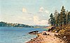 Eugen taube, view from the shore.