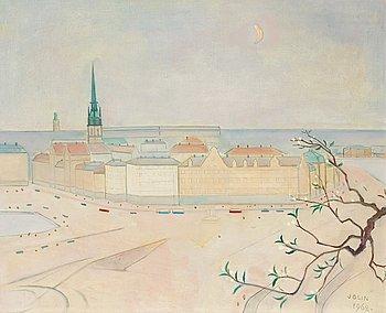 11. Einar Jolin, View over Stockholm.