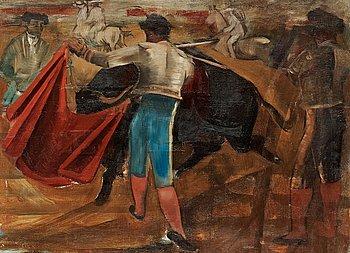 10. Eric Detthow, Bullfighting.