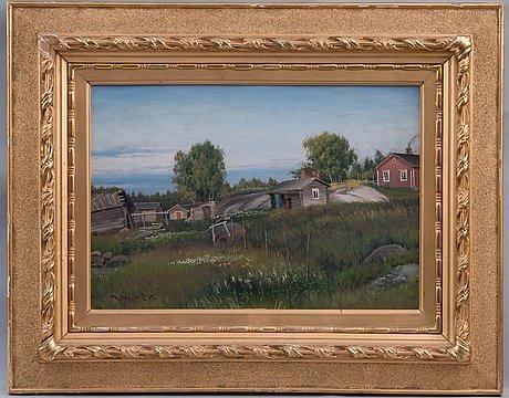 Thorsten waenerberg, summer in the countryside.