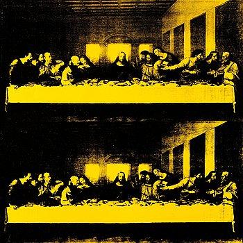 "416. Andy Warhol, ""Last Supper""."