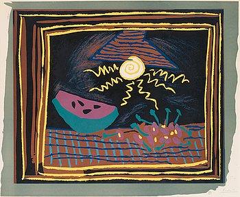 """301. Pablo Picasso, """"Nature morte à la pastèque""""."""