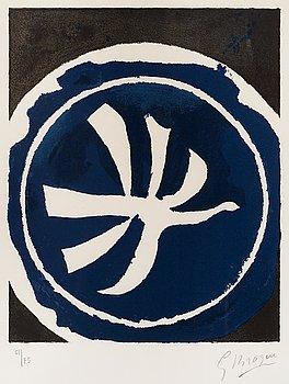 """207. Georges Braque, """"L'oiseaux blanc""""."""