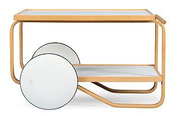 16. Alvar Aalto, A TEA TROLLEY 98.