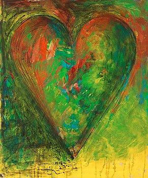 "412. Jim Dine, ""Green Moon""."