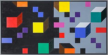 K G ( KARL GUSTAF) NILSON, olja på duk, signerad och daterad 1988.