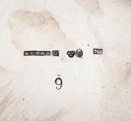 Vas, silver, 1915. vikt 309 g.