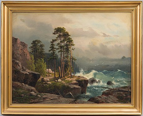 Aleksander vasiliev gine, stormy seas.