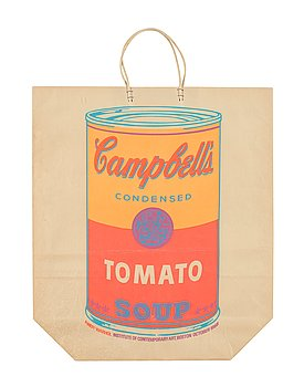"""215. Andy Warhol, """"Campbell's soup can (Tomato)""""."""