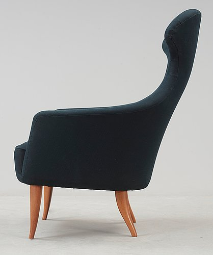 A kerstin hörlin-holmquist 'stora eva' armchair, paradise group, triva-series, nordiska kompaniet, 1950-60's.